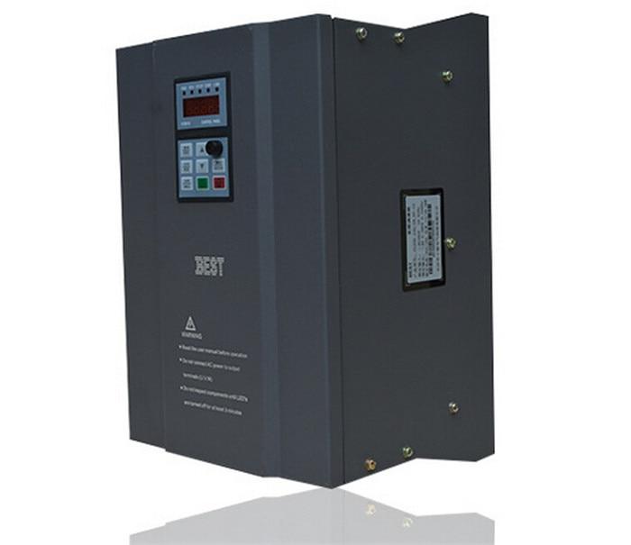 BEST 11kw 15HP 1000HZ VFD Inverter Frequency converter 3phase 380v input 3phase 0-380v output 24A for Engraving spindle motor
