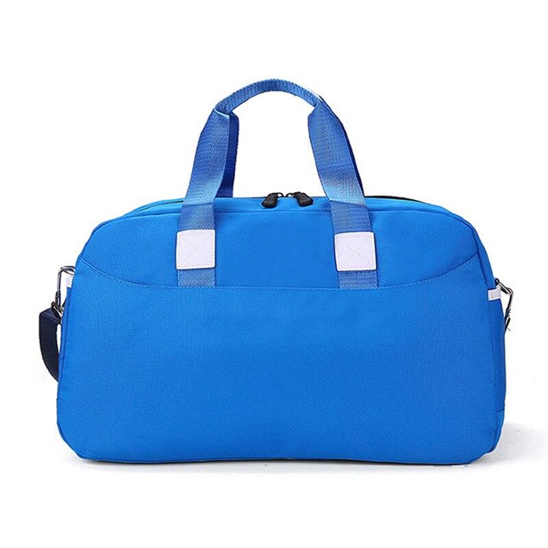 Ringed Penguin Women Travel Bag Nylon Stor Kapacitet Bagage Weekend - Väskor för bagage och resor - Foto 3
