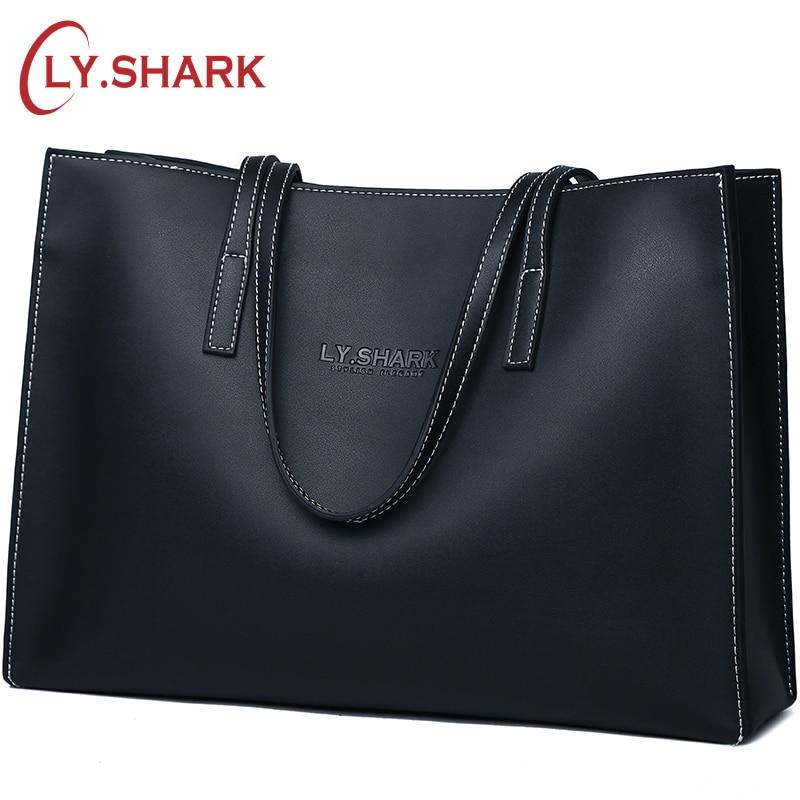 LY.SHARK Womens Over-the-shoulder Bags Ladies Genuine Leather Handbag Shoulder Bag Female Luxury Handbags Women Bags Designer