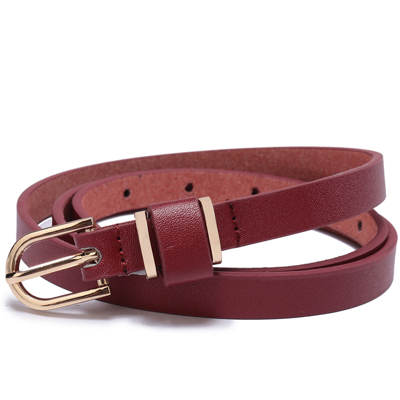 Women Belt Gold Polished Buckle Bonded Leather Glossy Solid 5 Colors Women Belts Plus Size Cinto Feminino Ceinture Cuir Femme