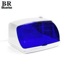 Bluerise УФ стерилизатор для маникюрных инструментов стерилизация коробка художественные инструменты для ногтей стерилизатор дезинфекция шкафы Красота и здоровье