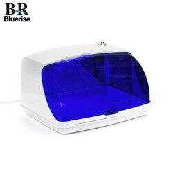 Bluerise معقم بالأشعة فوق البنفسجية لأدوات مانيكير صندوق تعقيم ملصقات الأظافر أدوات التعقيم تطهير خزائن الجمال والصحة