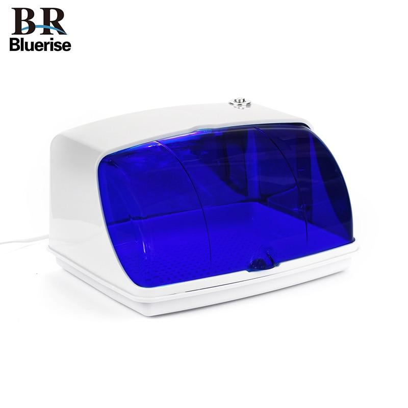 Bluerise UV stérilisateur pour Art ongles outils stérilisation boîte manucure outils stérilisateur désinfection armoires pour Salon de beauté-in Accessoires pour manucure from Beauté & Santé    1
