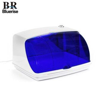 Bluerise uv 살균기 네일 도구 살균기 상자 매니큐어 도구 살균기 매니큐어 도구 소독 캐비닛 램프
