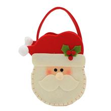 New Christmas Decoration Christmas Gift Bag Santa Claus Dress Up Children Candy