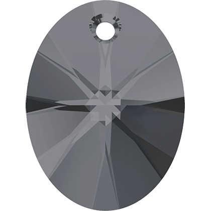 (1 חתיכה) 100% מקורי קריסטל סברובסקי 6028 Xilion סגלגל תליון תוצרת אוסטריה loose ריינסטון לdiy תכשיטי ביצוע
