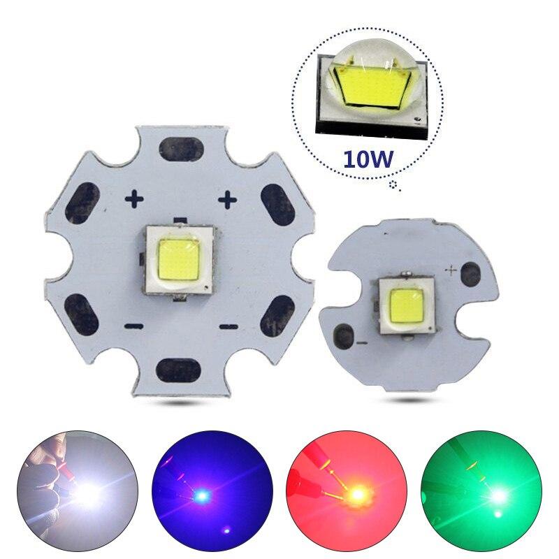 XM-L2 10W High Power LED Chip Flashlight Light Bulb Chip High Brightness Chip For Flashlightled High Luminosity  _WK