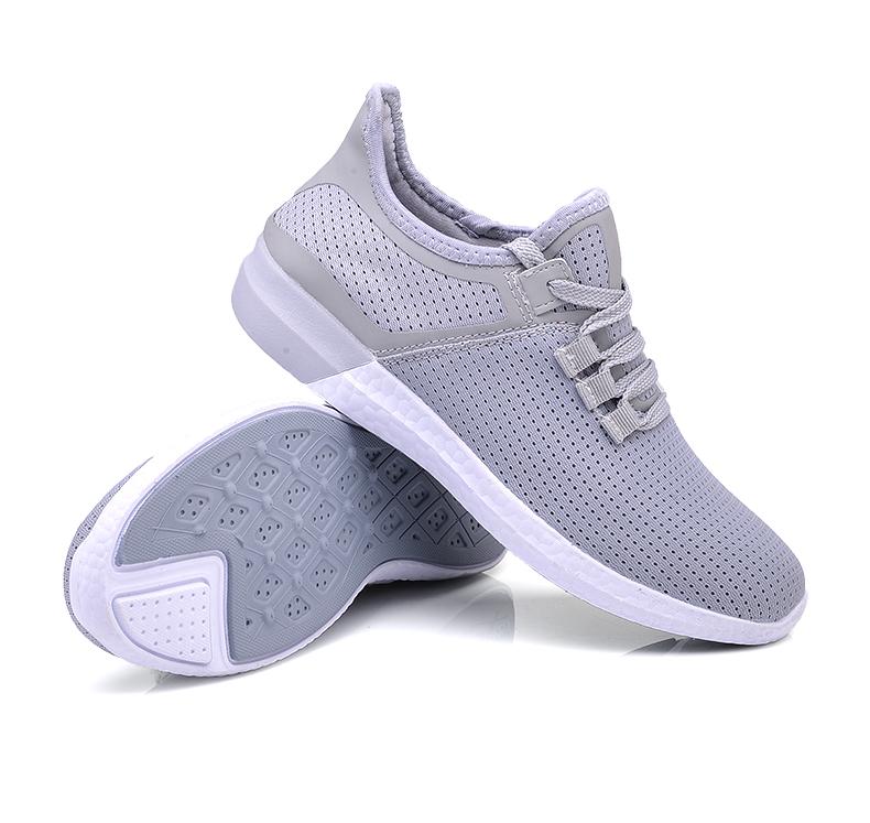 UNN Unisex Running Shoes Men New Style Breathable Mesh Sneakers Men Light Sport Outdoor Women Shoes Black Size EU 35-44 40
