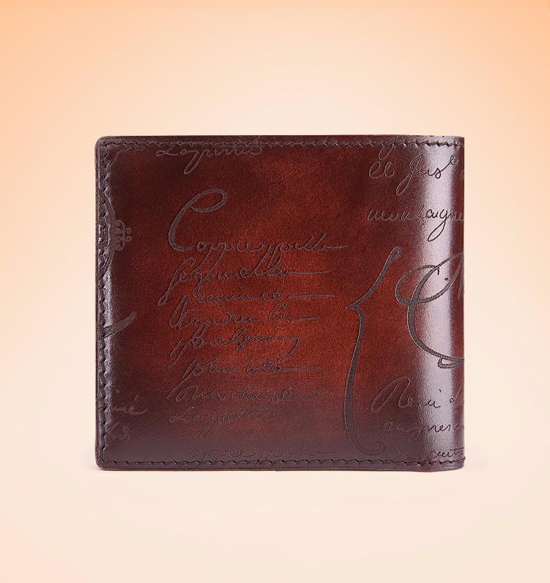 mens wallet brown