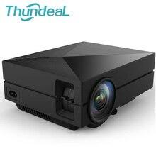 Новые GM50 обновления GM60 мини-проектор для Видеоигры ТВ Бимер проект дома кинотеатр Поддержка AC3 HDMI VGA AV SD USB GM60