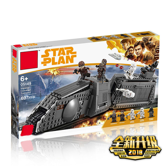 New Star Wars Series Imperial Conveyex Transport Compatible Legoing Starwars 75217 Building Blocks Bricks Kids Christmas Gifts [jkela]499pcs new star wars at dp building blocks toys gift rebels animated tv series compatible with legoingly starwars