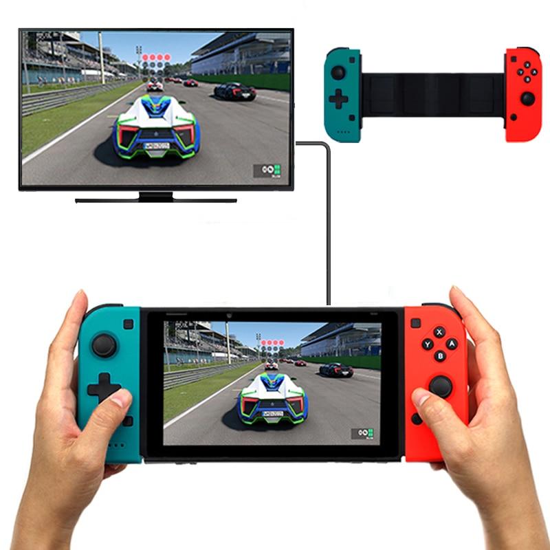 купить Bluetooth Wireless Stretch Controller Gamepad Joypad for Nintend Switch Console Gamepad Joystick по цене 1536.87 рублей
