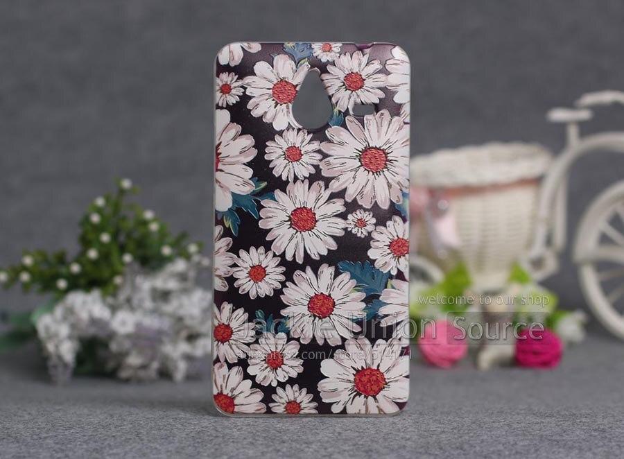 Dla nokia lumia 640 xl case ultra thin tpu pokrywa 3d tłoczone malowanie miękkiego silikonu telefon case pokrywa dla microsoft nokia 640xl 4
