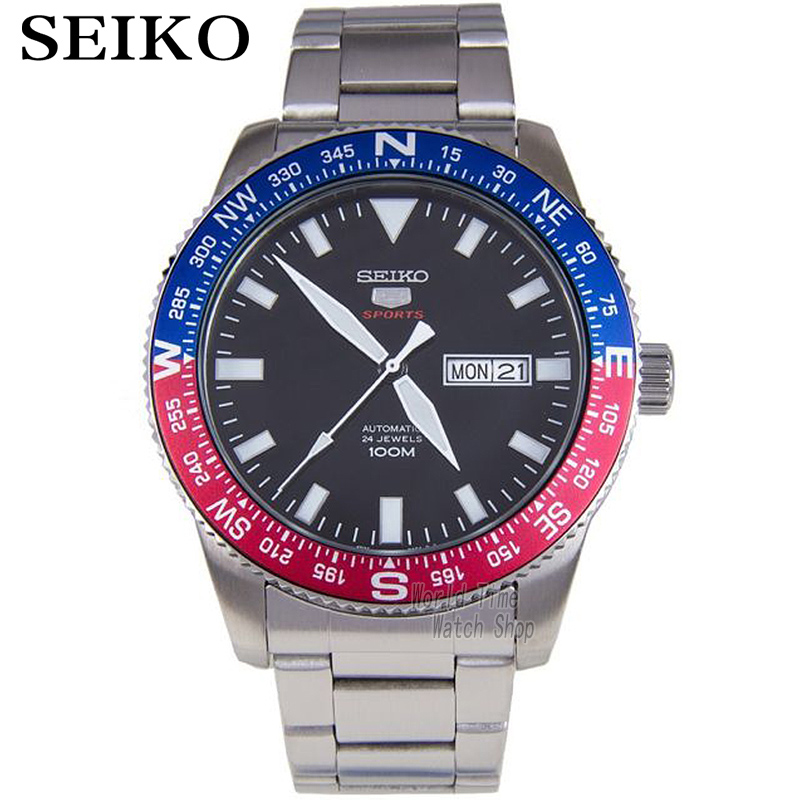 Seiko Men's  Diver's Analog Japan Automatic Stainless Steel Watch SKX009K2 SRP659J1 SRP661J1 SRP663J1 SRP665J1 SRP667J1 SRP669J1 [ pre sale november 11 delivery ] seiko watch seiko 5 automatic sports st aviator 24 jewels men s watch made in japan srp349j1