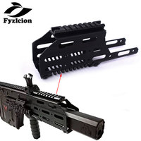Hunting Airsoft Drop In Free Float handguard Sight Scope Mount with 20mm Top Picatinny rail for LeHui KRISS VECTOR V2