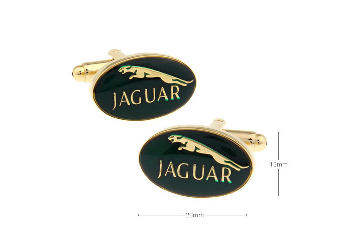 Jaguar logo cufflinks