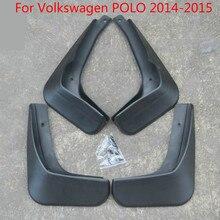Пластиковые Брызговики брызговик крыло автомобиля Стайлинг для Volkswagen POLO- Автомобиль-Стайлинг