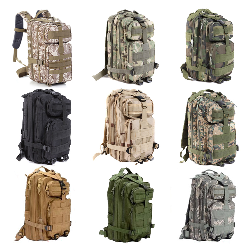 YOUGLE Large Capacity 30L Hiking Camping Bag Army Military Tactical Trekking Rucksack Backpack Camo storage bag outdoor camping hiking hunting bag rucksacks trekking bag durable camo large capacity backpack ea14
