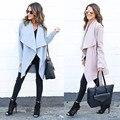 Meninas quentes 2016 Outono Inverno Casacos Quentes Mulheres Moda Quente Com Capuz Casaco Longo Casaco Corta-vento Parka Outwear