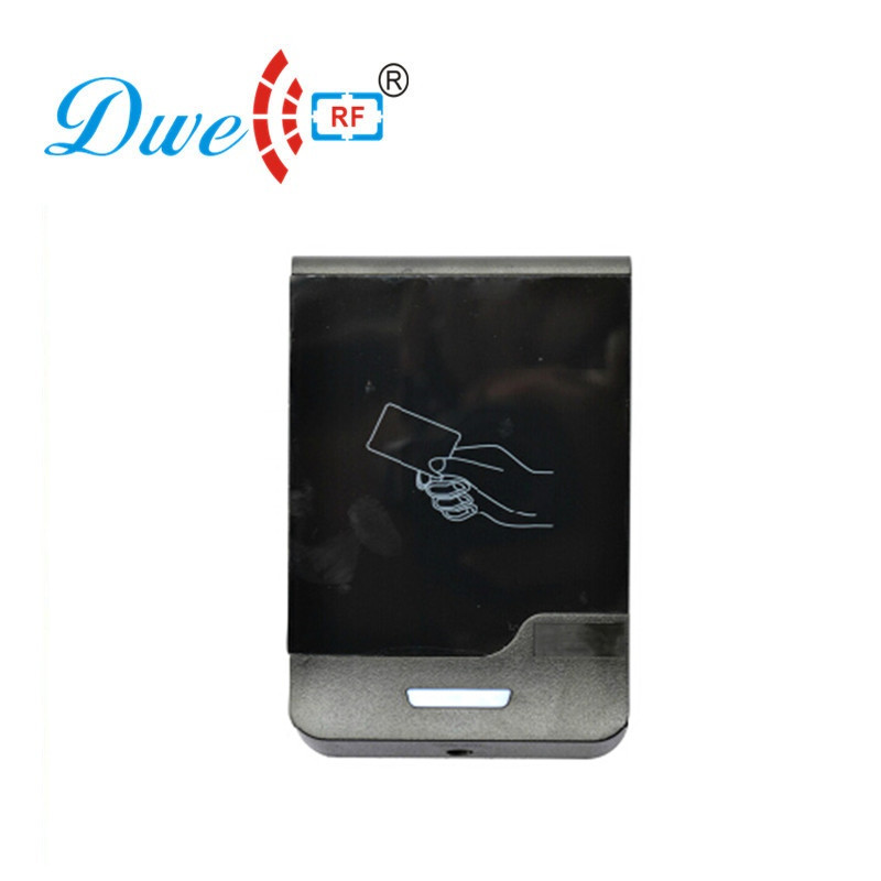 цена DWE CC RF Access Control System Touch Screen RFID Proximity Reader IP66 Scanner For Door Access Condtrol D901A