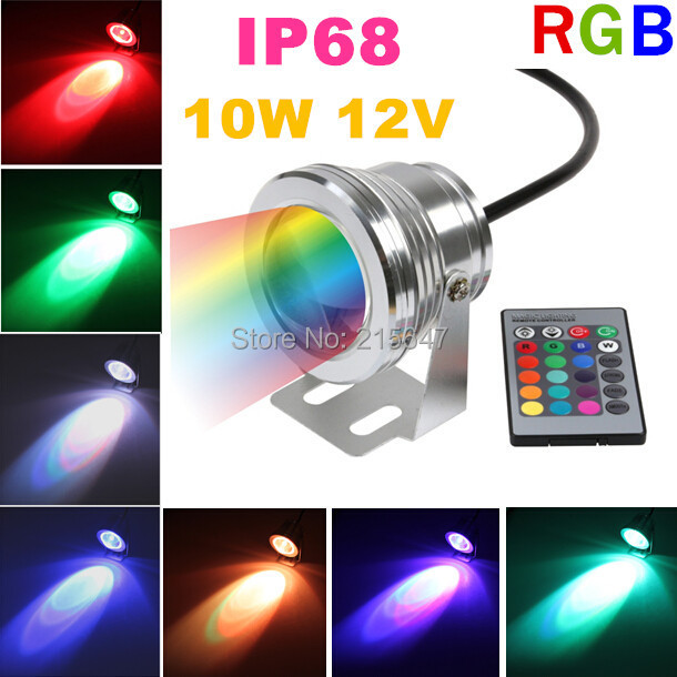 cheap 4pcs lot outdoor pool lamp rgb waterproof spotlight. Black Bedroom Furniture Sets. Home Design Ideas