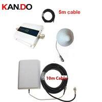 W 15 Meter Cable Panel Antenna 3G Gain 55dbi LCD Display Function Max 500 Sq Meter