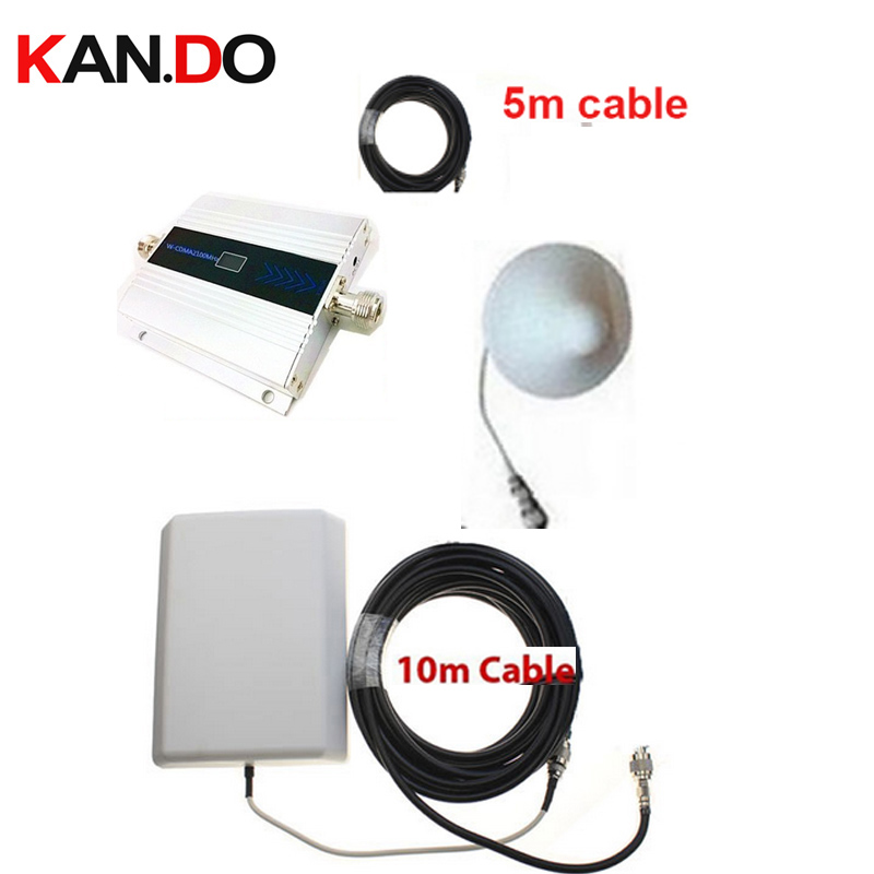 W/ 15 meter cable& panel antenna 3G gain 55dbi LCD display function max.500 Sq meter work 3G WCDMA mobile phone booster repeater