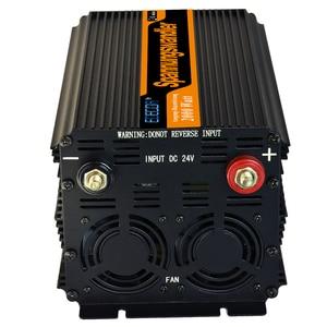 Image 2 - 2000 w off grid gemodificeerde sinus omvormer DC 24 v naar AC 220 v 230 V converter 4000 w piek