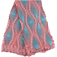 Hot Sale Cheap French Stones Voile Guipure Lace Fabric 2018 High Quality African French Tulle Lace French Lace Fabric 999