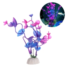 2018 Fish Tank Accessories Wonder Grass Plantas de acuario de plástico Decoración del acuario