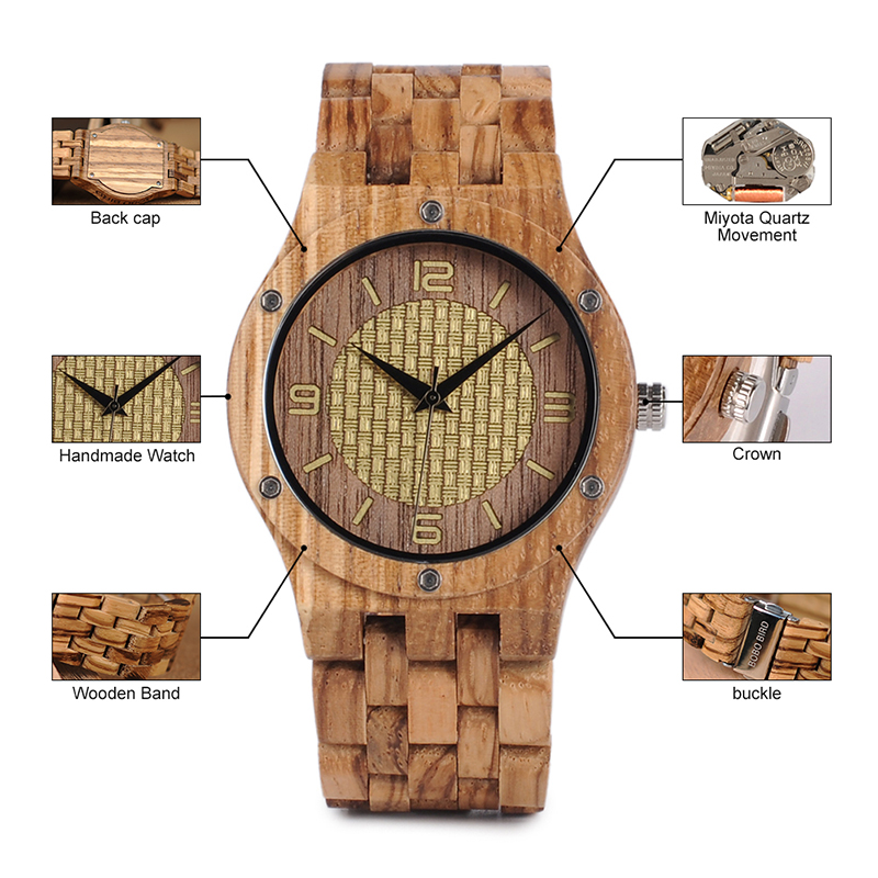 bobo bird 2018 new watches wooden fashion (60)