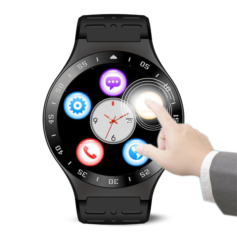Full Round Screen S99 Smart watch MTK6580 Android 5.1 Bluetooth4.0 GPS Google app Heart rate Fitness Tracker Smartwatch Phone