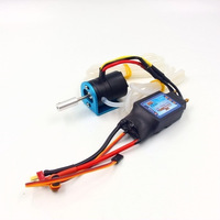 RC hobby radio control boat brushless motor with ESC power system combo 3536 1700KV 125A ESC water cooling waterproof