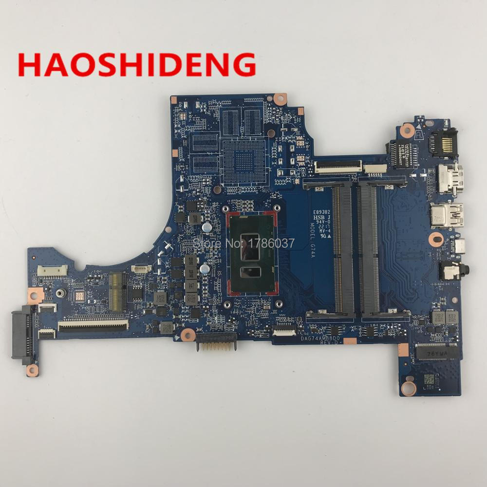DAG74AMB8D0 G74A for HP Pavilion 15-cc series Laptop motherboard with I5-8250U CPU.All functions fully Tested !
