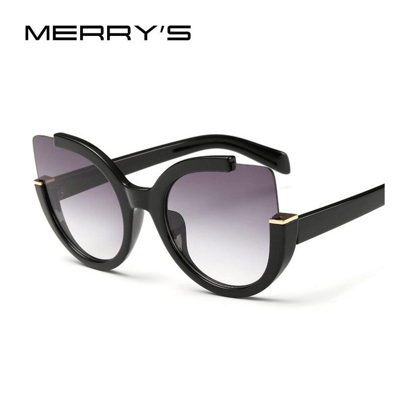 Nueva moda CAT EYE Gafas de sol mujer marca diseñador vintage flash color de lente reflejada colorido sunnies oculos feminino m200