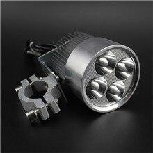 лучшая цена 4*U2 Cree 30W 3000lumens waterproof motorcycle led headlight|Stainless steel motorcycle headlamp