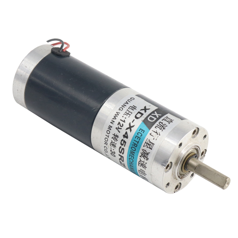 12V 24 dc motor, planetary gear motor, slow small motor, high speed CW/CCW motor,X45SRZ upair chase ccw motor