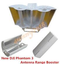 New Aluminum Parabolic Antenna Range Booster for DJI Phantom 4 3 Inspire 1 Controller Transmitter Signal Extender