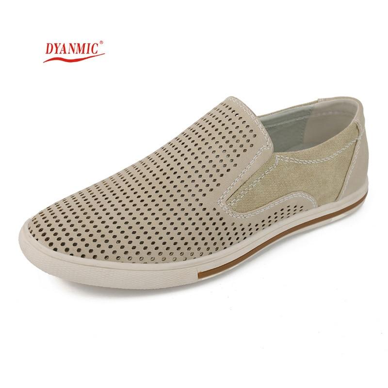 ФОТО DYANMIC Summer Original Design Men's Beige/Black/Green/Brown Hollow Out Sandals Mans Fashion Breathable Work Shoes