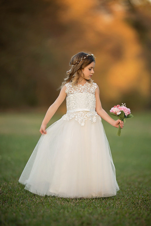 First Communion Dress Straght Holy Communion Dresses Ankle-Length Flower Girl Dresses for Wedding Lace Aqua Dresses for Girls 1 12t pink lace long trailing wedding dress flower girl dresses appliques first communion dresses for girls pageant dresses