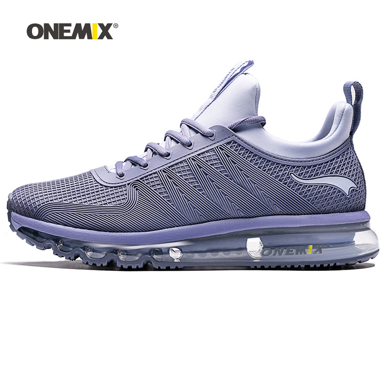 ONEMIX Men Running Shoes Women KPU Mesh Air Sole Athletic Trainers Tennis Sports Boots Cushion Outdoor