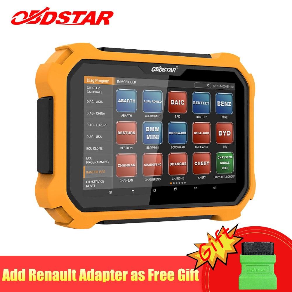 OBDSTAR X300 DP Plus OBD2 Scanner Auto Schlüssel Programmierer Wegfahrsperre Kilometerzähler Werkzeug Kilometer Anpassung OBD2 Diagnosescan-werkzeug