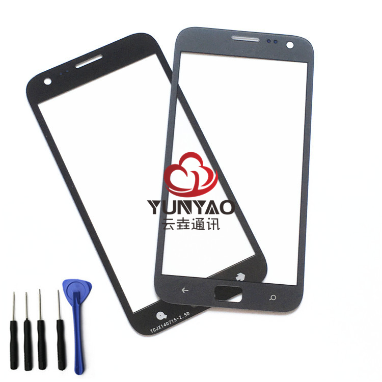 New Outer LCD Front Screen Glass Lens Cover Replacement Parts For Samsung ATIV S i8750 Touch Screen
