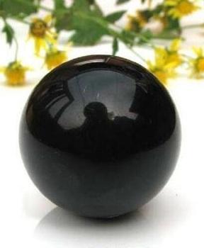 80mm romantyczny czarny kryształowy Shinning piłka azji rzadko naturalny czarny obsydian kula duża kryształowa kula kamień leczniczy wystrój domu tanie i dobre opinie MASKOTKA FENG SHUI KRYSZTAŁ K9 Crystal Crystal Ball Zhejing China(mainland) Decorative Feng Shui ball Magic ball Black