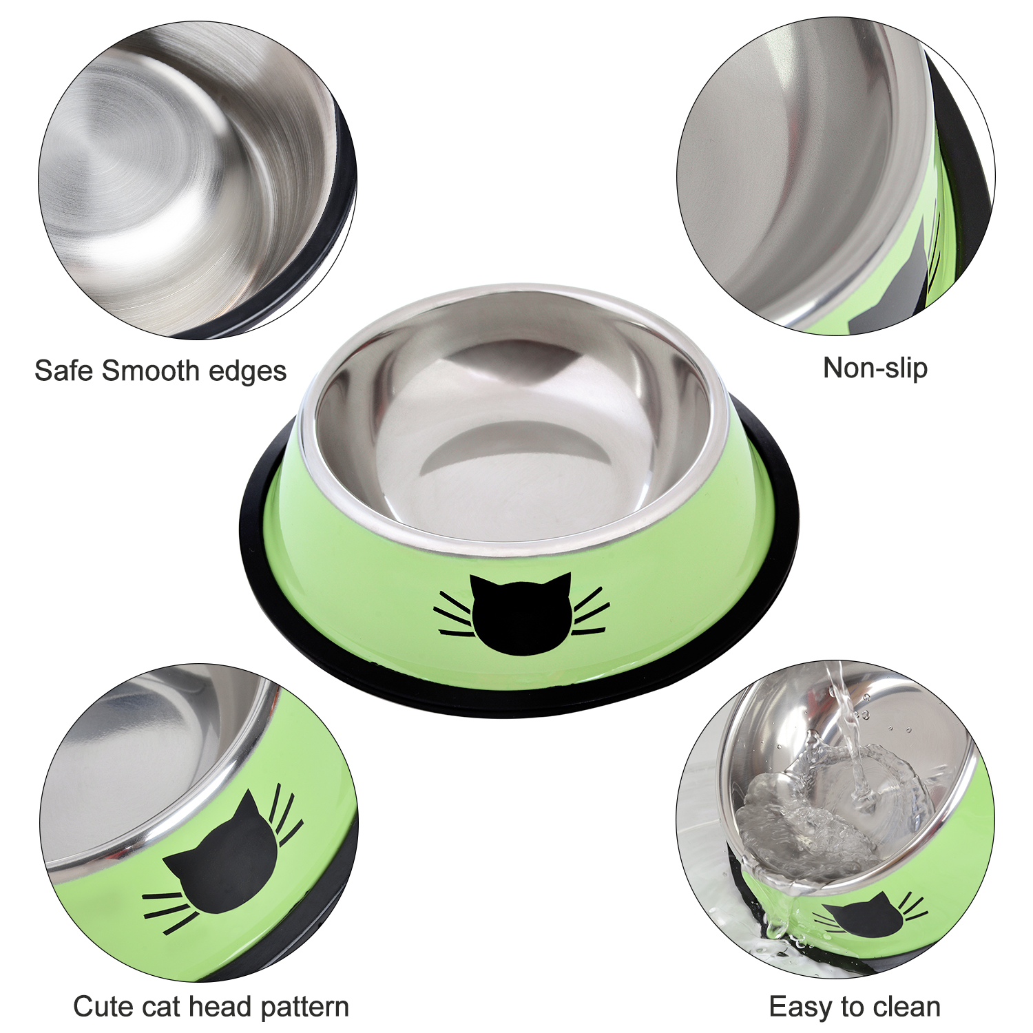Buy-Dog-Cat-Bowl-Stainless-Steel-Anti-Skid-Pet-Best-Dog-Cat-Food-Water-Bowl-Online-In-Nairobi-Kenya