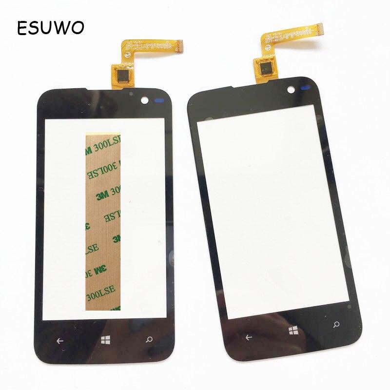 ESUWO Touchscreen For Highscreen Winwin Touch Screen Digitizer Front Glass Lens Win Win Touch Panel Sensor