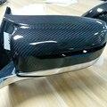 M3 Стиль G20 углеродного волокна Замена боковое зеркало крышка для BMW G20 седан и G21 Wagon 320 330 340 2019 только левый руль