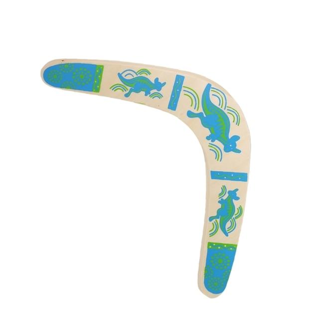 New Kangaroo Throwback V Shaped Boomerang Flying Disc Throw Catch Outdoor GameOutdoor Fun & Sports