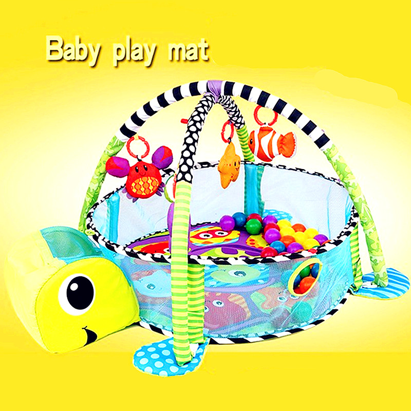 Lion bébé jouet bébé tapis de jeu 0-1 ans jeu Tapete Infantil formation ramper tapis jeu Gym couverture dessin animé balle Pit L2755