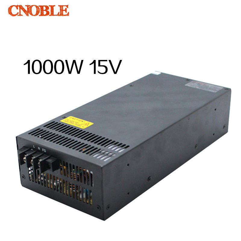 1000W 15V 66A 220V INPUT Single Output Switching power supply for LED Strip light AC to DC 1200w 15v adjustable 220v input single output switching power supply for led strip light ac to dc